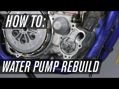 How To Rebuild An ATV/Motorcycle Water Pump
