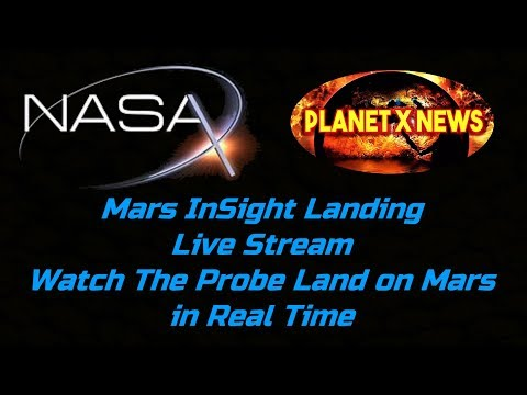 NASA InSight Mars Landing - Watch The Probe Land on Mars Live