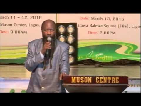 """HOW DO YOU KNOW WHEN GOD HAS SPOKEN? -Nigeria Revival 2016 -PROPHET DR.OWUOR"""
