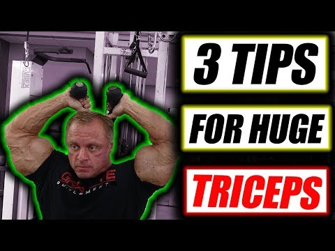 3 Tips to get Monster Triceps fast Mp3
