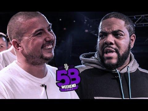 OSHEA VS CHARLIE CLIPS | Don't Flop Rap Battle