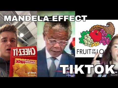 MANDELA EFFECT TIKTOK