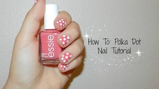 How to: Do Polka Dot Nails (tutorial) Thumbnail
