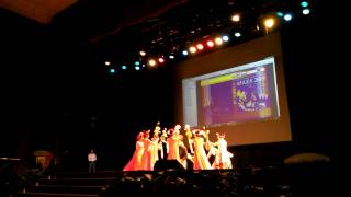 AFLES 2015 - Cultural performance by Vietnamese delegates