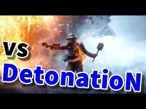 スナイパーでやる vs DetonatioN Gaming BF1試合【KUN】
