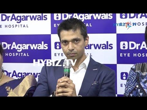 Adil Agarwal, Dr. Agarwals Eye Hospital Inauguration of Himayatnagar Branch Hyderabad | hybiz