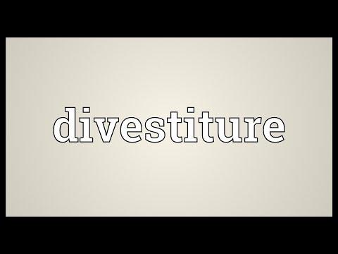 Header of divestiture