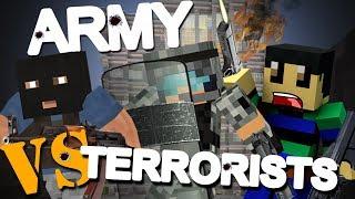 army vs terrorists in het f5 gebouw