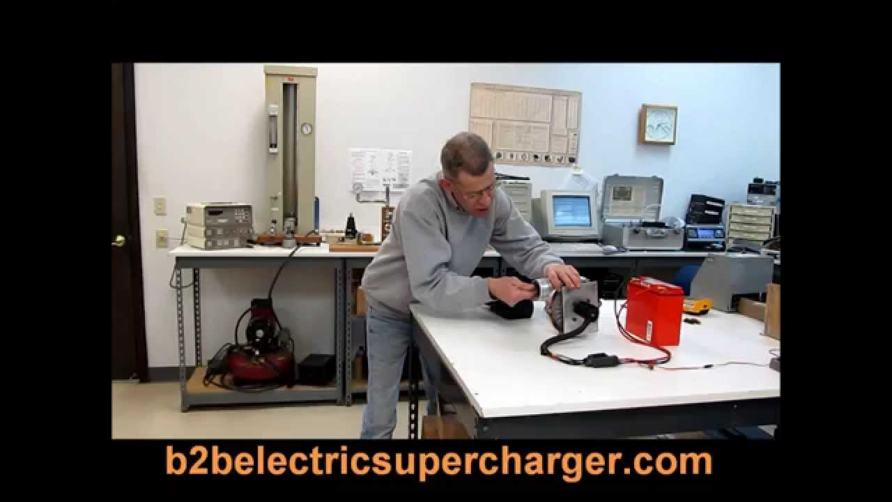 Build Your Own Electric Supercharger