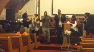 Now Faith Choir man on the corner Rapture song