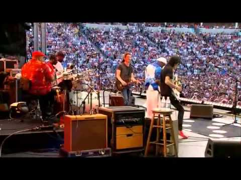 Buddy Guy & Johnny Lang & Ronnie Wood - Miss you - Live Crossroads Guitar Festival 2010