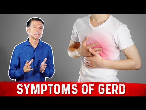 Symptoms of GERD (Gastroesophageal Reflux Disease)