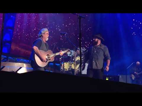 "Zac Brown Band, Hershey, PA 9-3-2017 ""It's A Great Day To Be Alive"" Travis Tritt Cover"