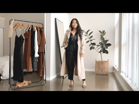 styling fall essentials: trench coats (neutrals, thrifted, conscious)