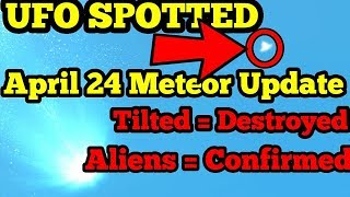 Fortnite Meteor News! Update April 24 Patch 3.6 - Meteor hits tilted - Aliens Confirmed