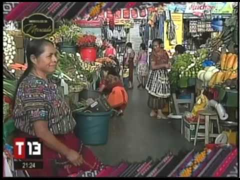 T13 Mercado Justo Rufino Barrios Zona 21 Youtube