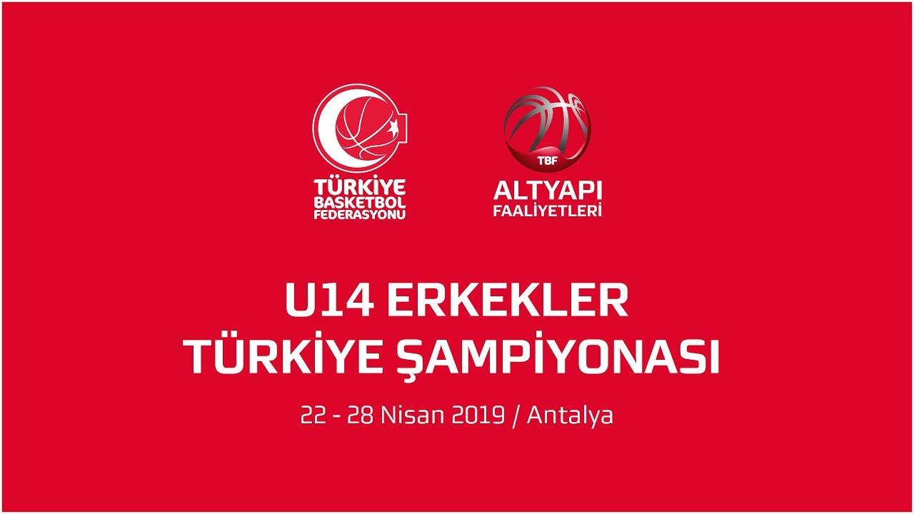 Anadolu Efes - Bandırma Kırmızı U14 Erkekler Türkiye Şampiyonası Final Maçı