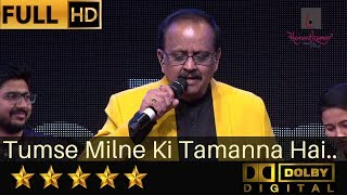 S. P. Balasubrahmanyam sings Tumse Milne Ki Tamanna Hai - तुमसे मिलने की तमन्ना from Saajan (1992)