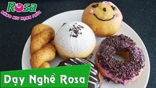 Dạy làm bánh Donut thơm ngon cho gia đình