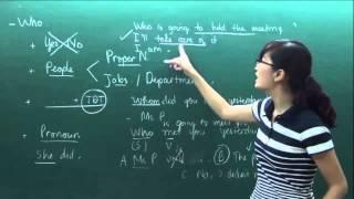 Luyện thi TOEIC Part 2 - luyen thi toeic part 2 cô Mai Phương bài 1