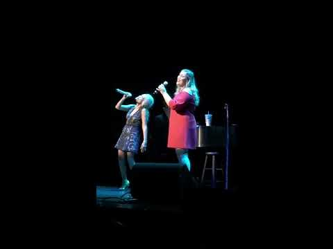 Kristin Chenoweth and 17 year old connect flawlessly on an unrehearsed duet of For Good. Amazing!