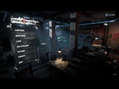 Phantom Doctrine basic game setup tutorial E01 |