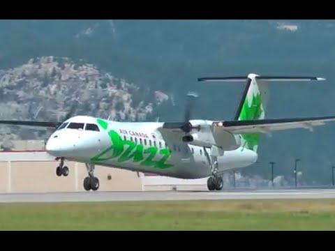 Smooth De Havilland Canada DHC-8-300 Dash 8 Landing