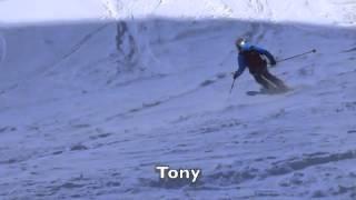 Tony Caroline Joggi and Gerhard offpiste Parsenn Thumbnail