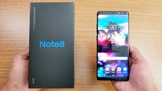 Samsung Galaxy NOTE 8 UNBOXING & FIRST LOOK !!!