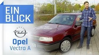 Opel Vectra A 1.6i 1992 – günstiger und praktischer Youngtimer? Vorstellung, Test und Kaufberatung