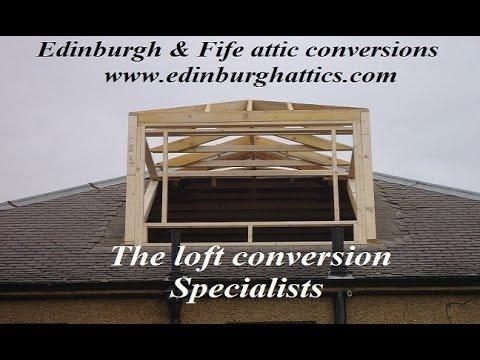 Edinburgh & Fife attic / loft conversions, Bungalow conversion