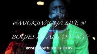 MICK SWAGGA LIVE @ BOGIES IN ALBANY NY PT. 2