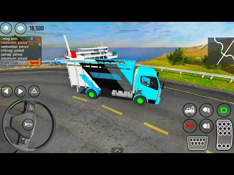 IDBS Mabar Truck Simulator - Indonesian Driving Online Game - Android IOS Gameplay