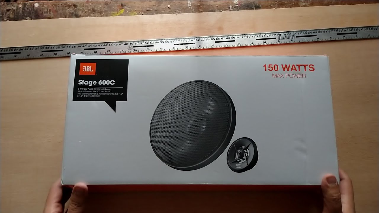 Jbl Stage 600c Car Audio Speakers Fast Unboxing Youtube