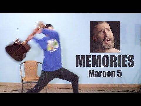maroon-5---memories-/-guitar-cover