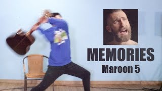 Maroon 5 Memories guitar cover