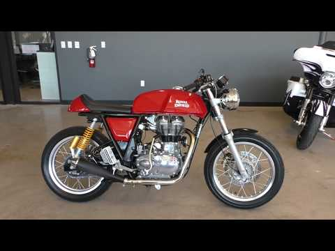 601938   2017 Royal Enfield Continental GT Cafe Racer Used motorcycles for sale