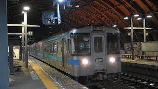 JR四国 高知駅 回送車両 大雨の日 2019 09