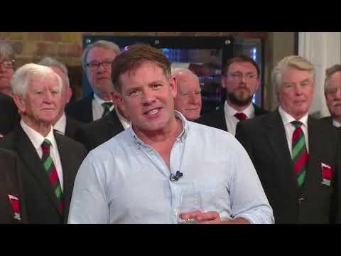 The London Welsh Rugby Club Choir Sing Hen Wlad Fy Nhadau On BBC1's Saturday Kitchen Live