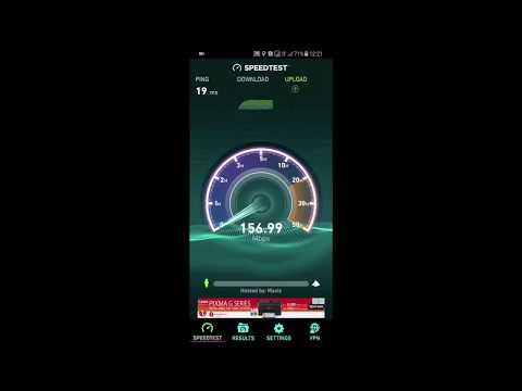 4G LTE Advanced Speedtest 2 - Celcom