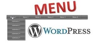 видео Как настроить свои стили для меню в WordPress