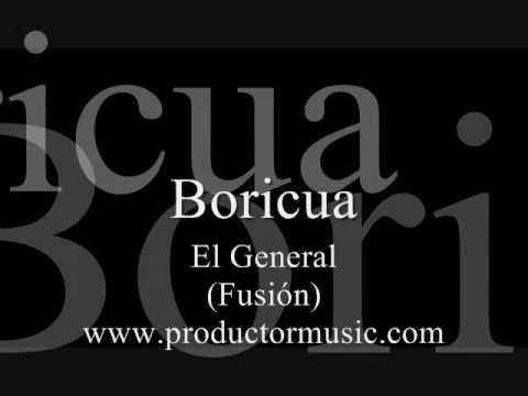 Boricua - El General Karaoke / MIDI