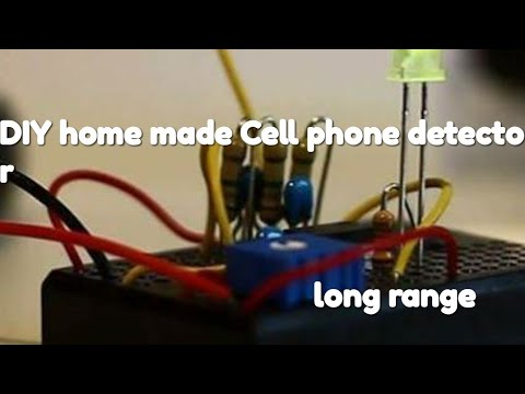 Easy Builds-| DIY home made long range cell phone detector (100% working)