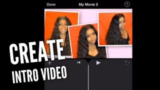 How I Create My Intro YouTube Video