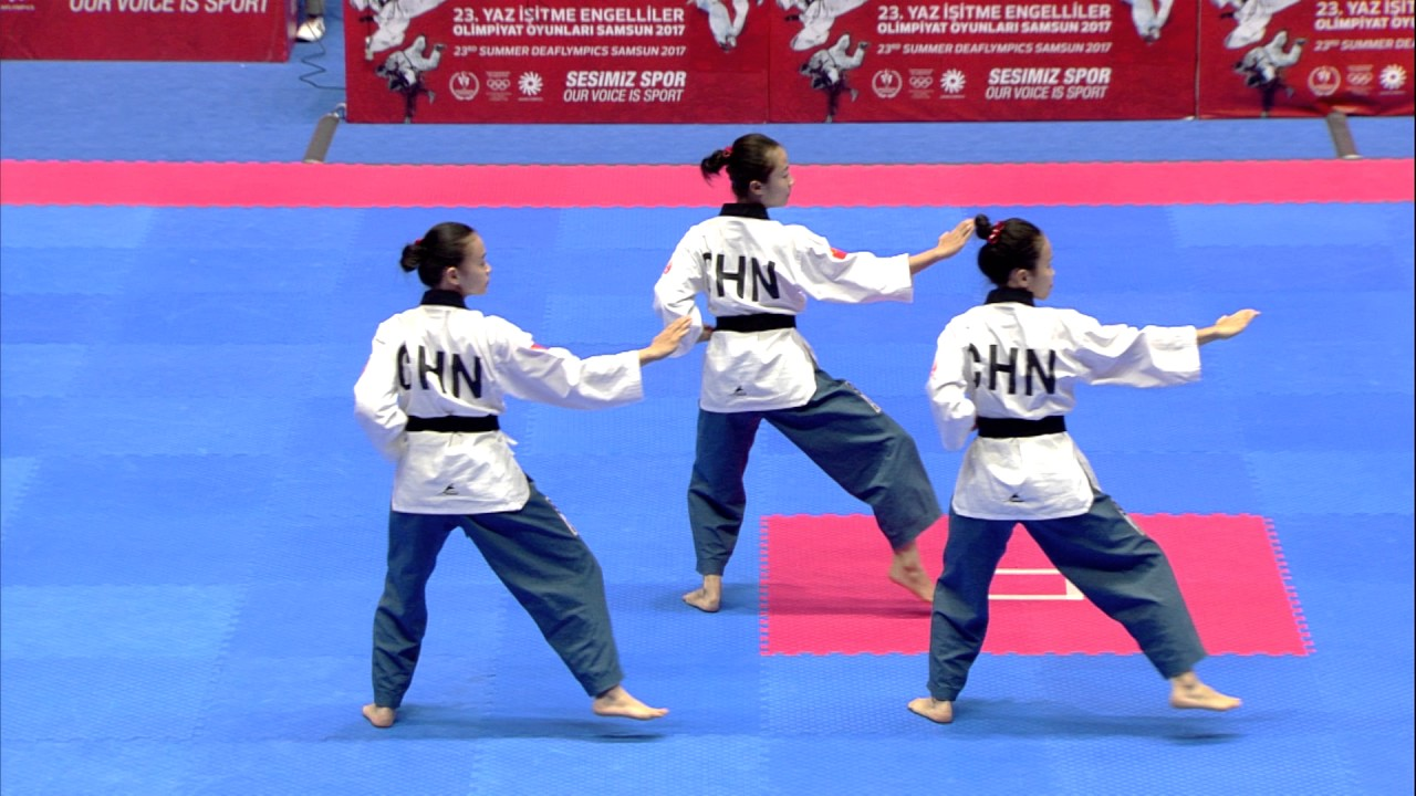 video poomse taekwondo gratuit