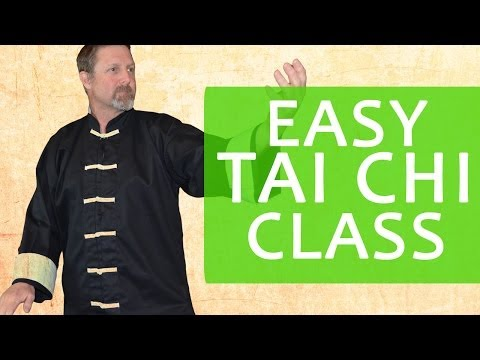 Tai Chi Class for Complete Beginners - 18 Minute Follow Along Class