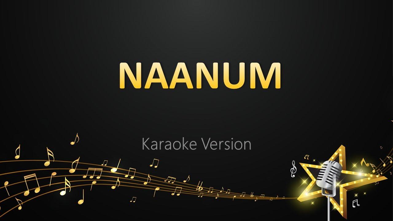 Naanum - Karthik (Karaoke Version)   Boomz Tamil Karaoke Station   Hari Raya Haji 2021 Special