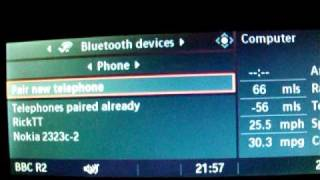 BMW E60 IDRIVE PAIRING A BLUETOOTH MOBILE PHONE GUIDE