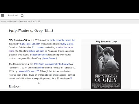 Fifty Shades Of Grey (film) - Wikipedia