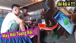 Quanglinhvlogs ||TROLL LINDO Máy Điện Thoại Mới Bể Màn Hình và ... CÁI KẾT thumbnail